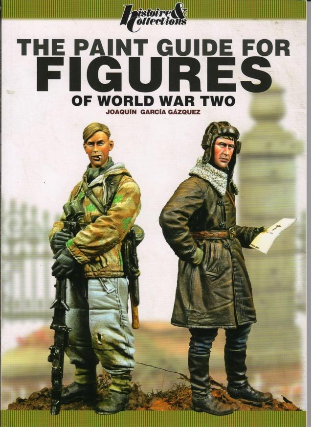 Роспись фигур The Paint Guide for Figures of World War Two 00110