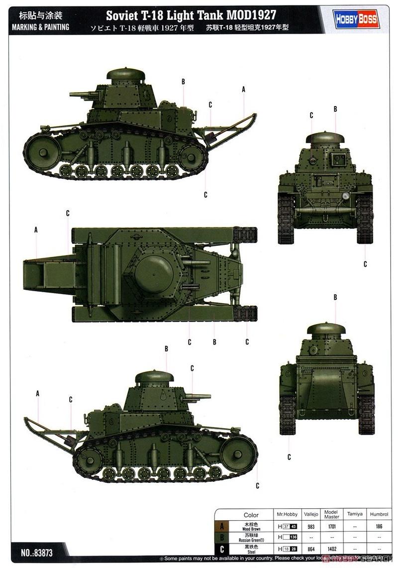 Soviet T-18 от Hobby Boss 10385511