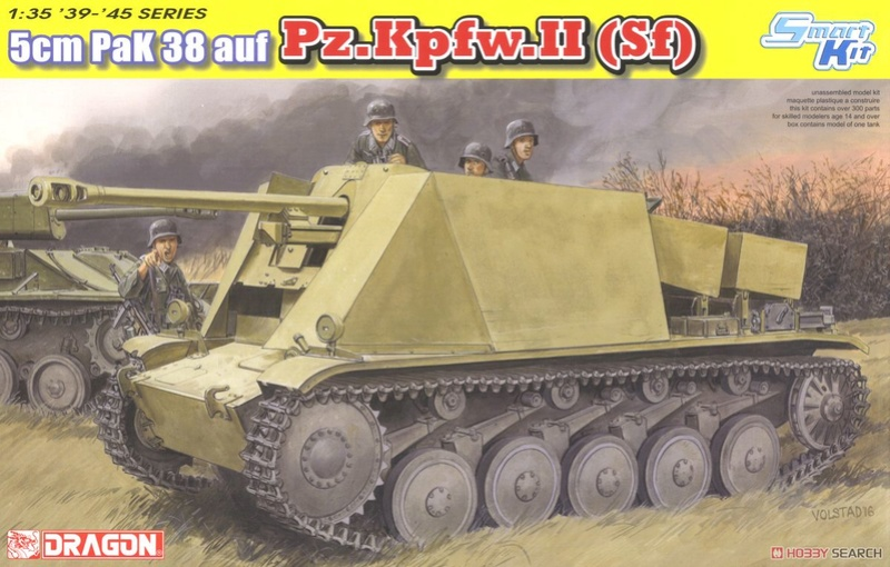 5cm PaK 38 auf Pz.Kpfw.II (Sf) от  Dragon 10398011