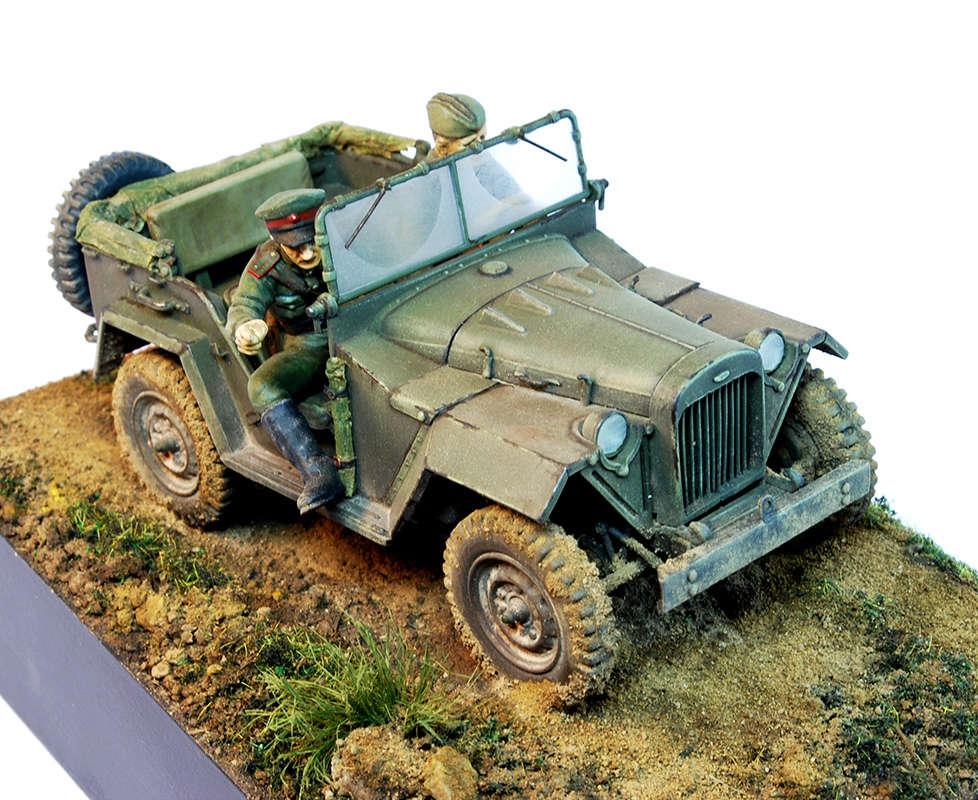 ГАЗ-67 1943г. 1114