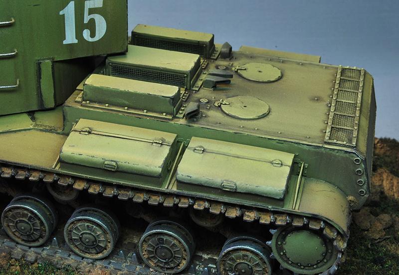 """КВ-5 -""""Бумажный танк"""" 1115"""