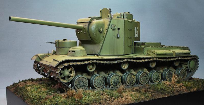 """КВ-5 -""""Бумажный танк"""" 217"""