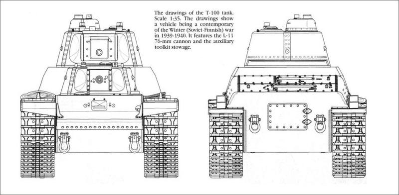 Т-100 Сталинский бронемонстр 3-110