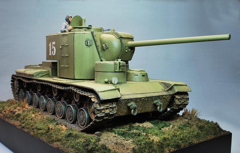 """КВ-5 -""""Бумажный танк"""" 415"""