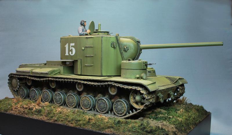 """КВ-5 -""""Бумажный танк"""" 515"""