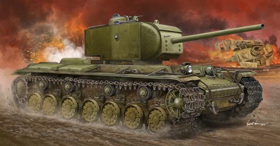 """КВ-220 """"Русский тигр"""" от Trumpeter 57a3f410"""