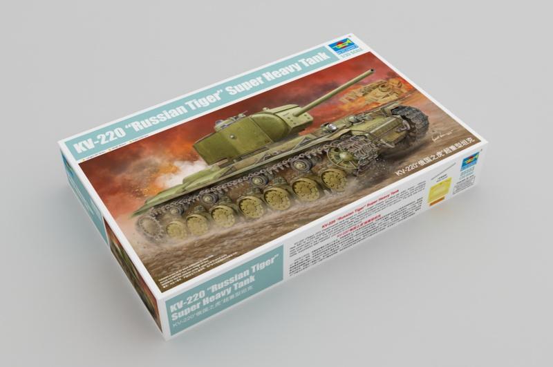 """КВ-220 """"Русский тигр"""" от Trumpeter 57a3f411"""