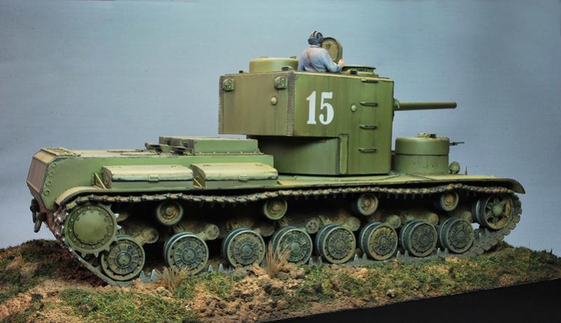 """КВ-5 -""""Бумажный танк"""" 614"""