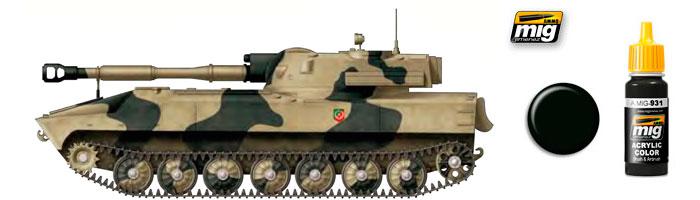 Зелёные цвета для Российской бронетехники от компании Ammo of Mig Jimenez 931_st10