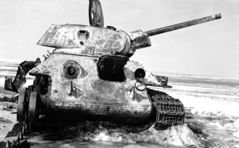 Камуфляж танков РККА периода ВОВ T34_7610