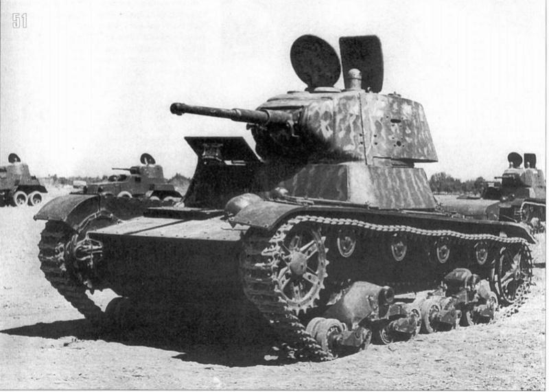 Камуфляж танков РККА периода ВОВ T_26_m11