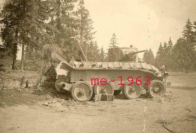 Камуфляж танков РККА периода ВОВ Zcpdjx11