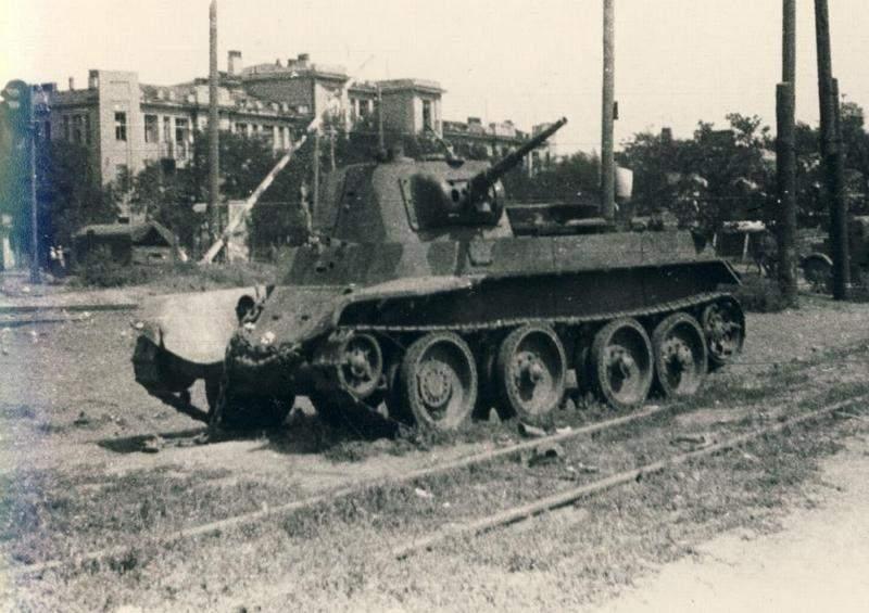 Камуфляж танков РККА периода ВОВ Zcpdjx15