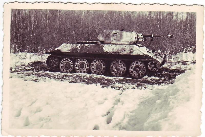 Камуфляж танков РККА периода ВОВ Zcpdjx29