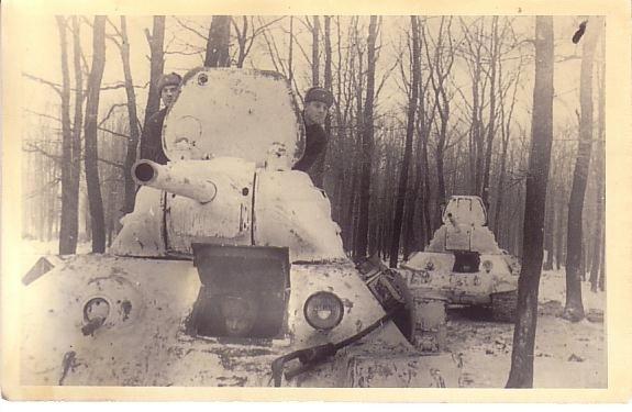 Камуфляж танков РККА периода ВОВ Zcpdjx30