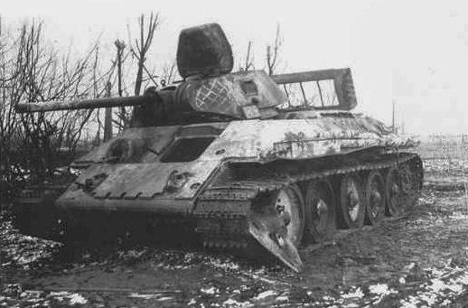 Камуфляж танков РККА периода ВОВ Zcpdjx31