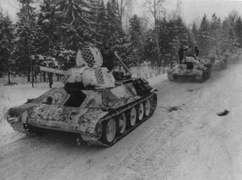 Камуфляж танков РККА периода ВОВ Zcpdjx35