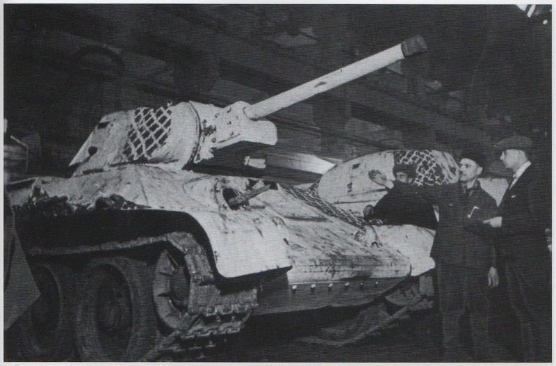 Камуфляж танков РККА периода ВОВ Zcpdjx42