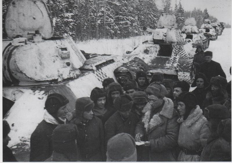 Камуфляж танков РККА периода ВОВ Zcpdjx43