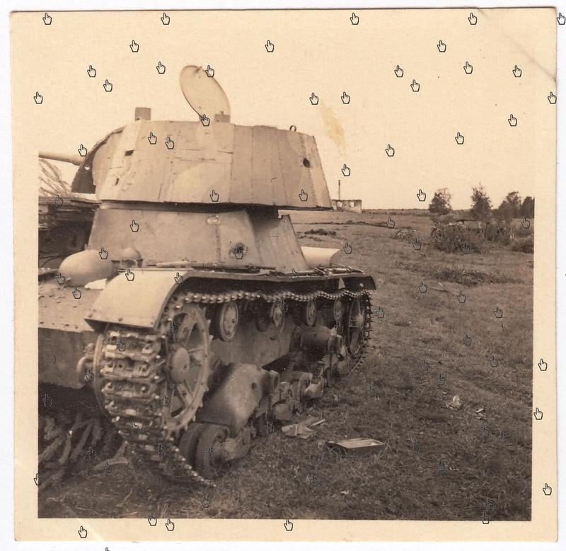 Камуфляж танков РККА периода ВОВ Zd5yba10