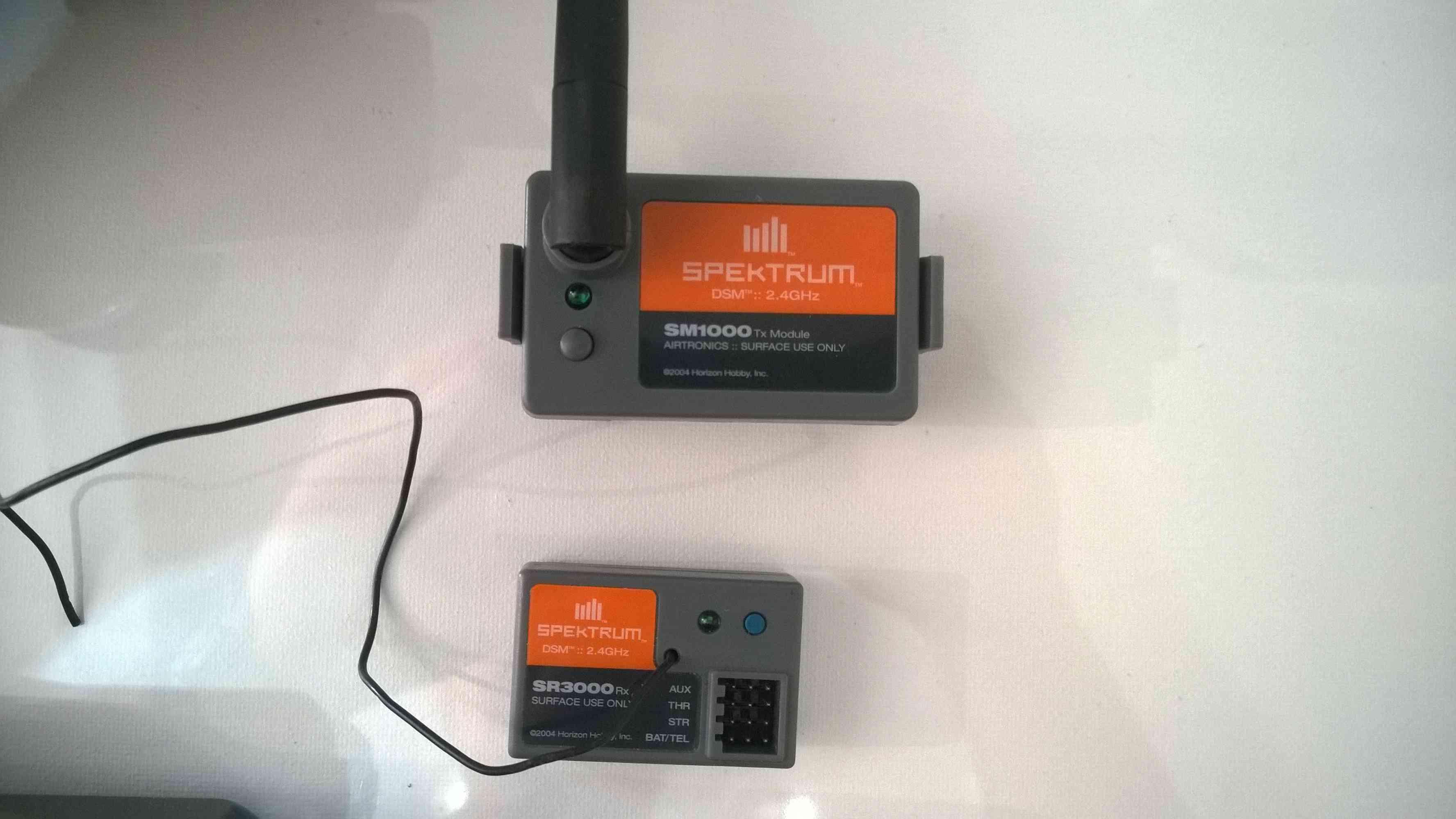 Vendue!  Radio SANWA M8 + Module Spektrum SM1000+récepteur SR3000 Baisse du prix Wp_20125