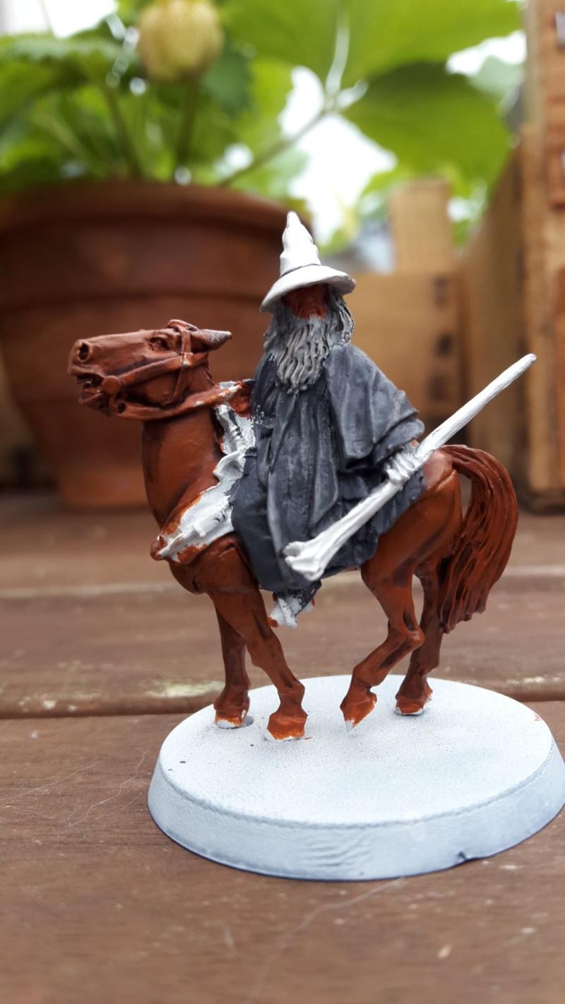 Gandalf a pied et monté Gandal10