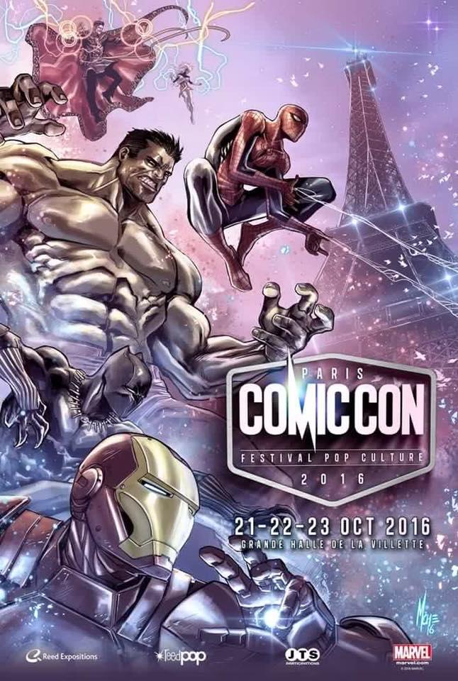 Comic Con de Paris le 21,22 et 23 Octobre 2016 14100310