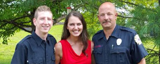 Una conmovedora nota, de una camanera a los bomberos Lizybo10