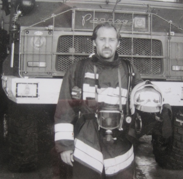 Entrevista de una hija a su padre de profesión bombero Papa10