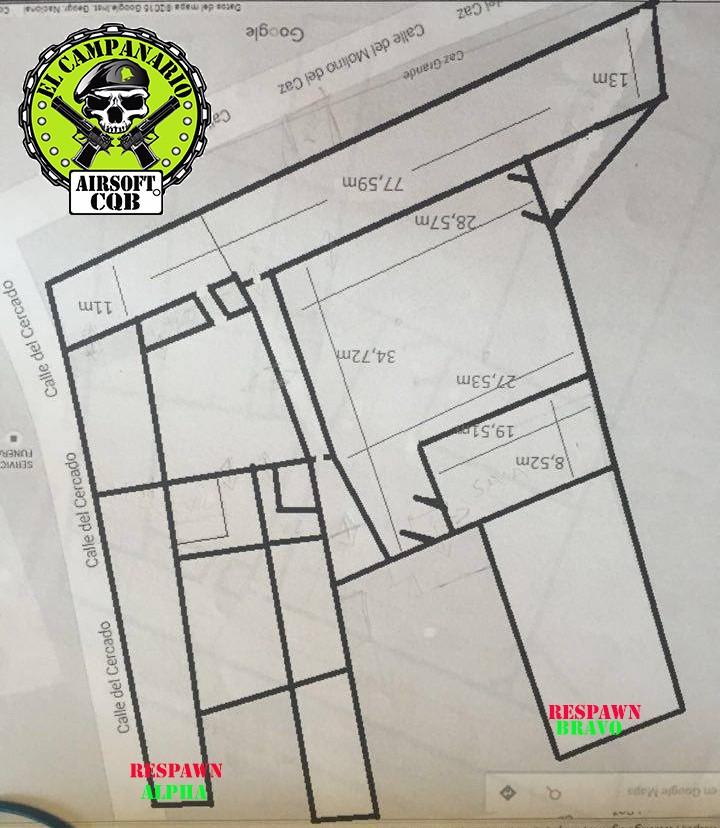 Ubicación y plano del campo. 13474113