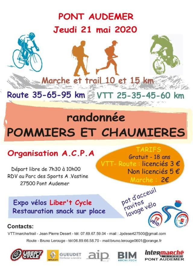 dimanche 27 septembre: Rando Pommiers & Chaumières Pont Audemer 8d686710