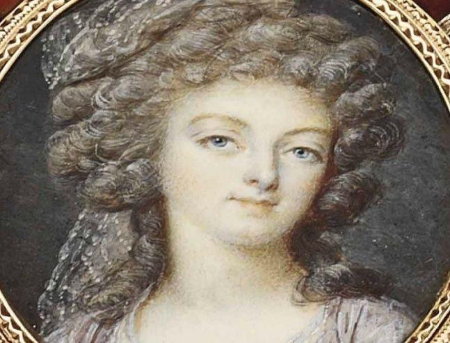 Exceptionnelle tabatière à l'effigie de Marie-Antoinette Zboite12