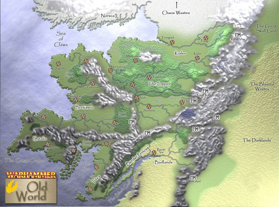 Background : Introduction to the Warhammer World Map11