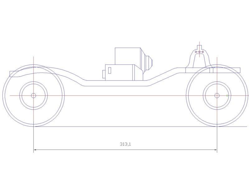 Fabrication d'un scale 1/16 ou 1/18 chassis tubulaire totalement fait maison à base de pièces de HSP Kulak ou Losi Scx1012
