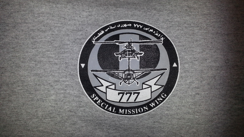 Afghan Commandoes & 777 Special Mission Wing Shirts 20160313