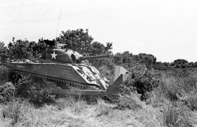 Bataille dans le Bocage Normand - techniques et tactiques Image94