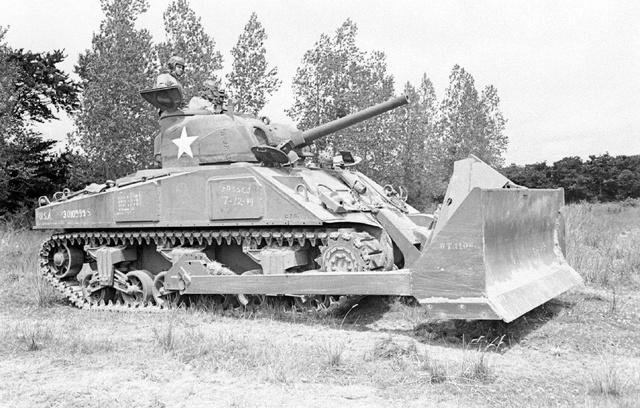 Bataille dans le Bocage Normand - techniques et tactiques Image95