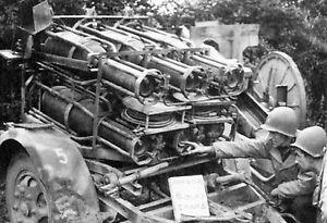 30 cm Raketenwerfer 56 et Wurfkörper 42 de 30 cm _35-610
