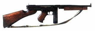 L'ARMEMENT DE LA 4th INFANTRY DIVISION : LE PISTOLET MITRAILLEUR THOMPSON M1 et M1A1 M110