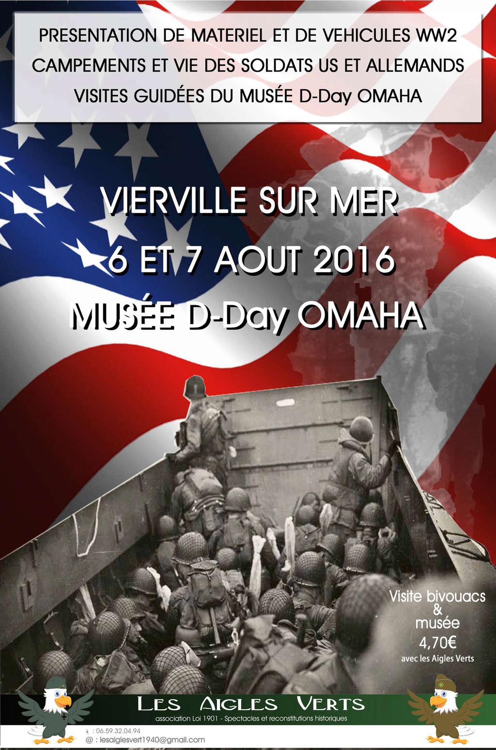 06>07 Aout 2016 - VIERVILLE SUR MER - Musée D-day Omaha Petite12