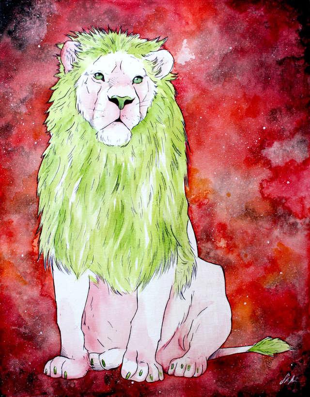 La galerie de TrollcreaK.  Lion_a10