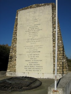 LE MONUMENT AMERICAIN AU VERDON Lafaye10