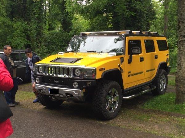 Mon Hummer H2 jaune  Image10