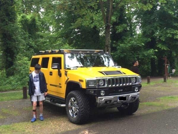 Mon Hummer H2 jaune  Image11