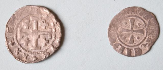 Monnaies avec Croix de Jérusalem et Croix des Templiers ... Dsc_0013