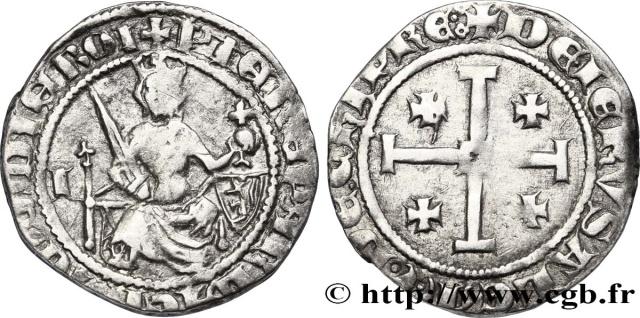 Monnaies avec Croix de Jérusalem et Croix des Templiers ... Fre_3210
