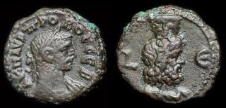 Moyen Bronze avec le Dieu Serapis et ??  Tetrad10