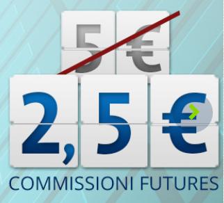 Con BINCK commissioni sui futures a 2,5 € (anziché 5 €) sui mercati IDEM, EUREX, CME, Euronext [scaduta il 31/08/2016] Cattur15