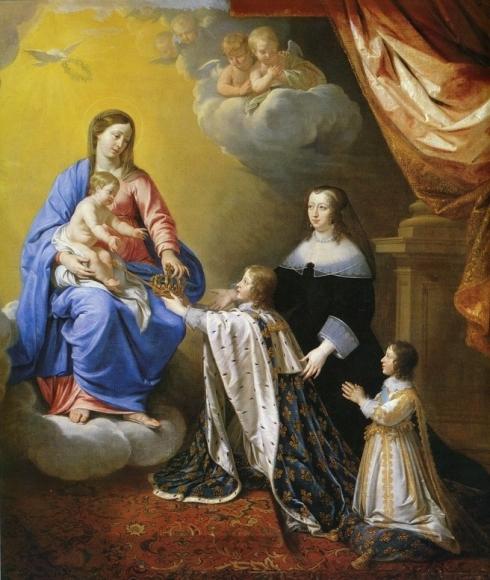 Vœu de Louis XIII Consécration de la France à la Vierge Marie  Image82