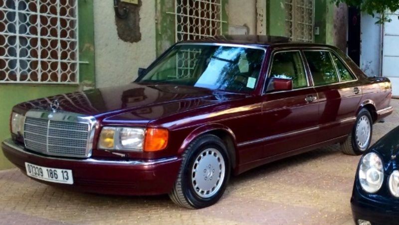 Mercedes w126 560 sel  Image13